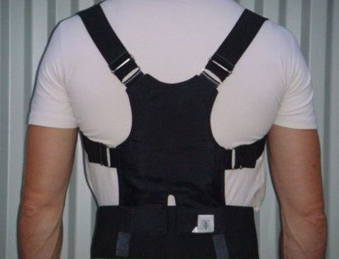 corset used in the kyphosis