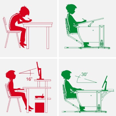 How to develop your posture at the computer