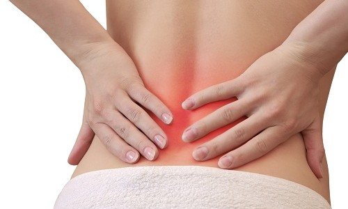 back Pain is the displacement of the vertebrae