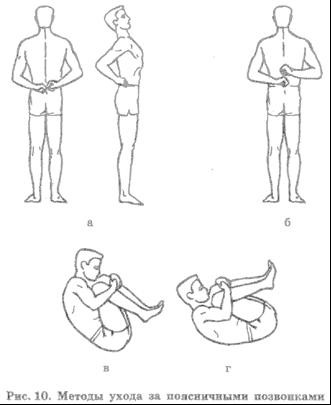 a set of exercises for posture for school students