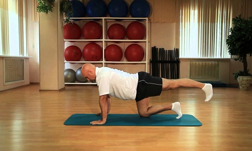 Methodology of exercises of Sergei Mikhailovich for the spine