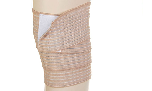 Elastic bandage - a bandage in case of arthrosis