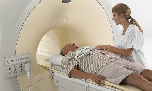 brain MRI for the diagnosis of the disease