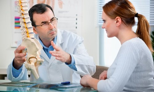 the Treatment of the spine, under the supervision of a physician