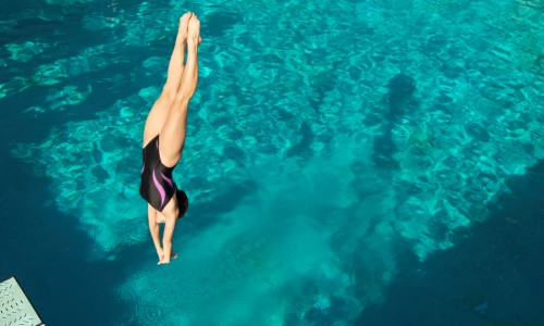 Jumping into the water is one of the causes of spinal cord injury