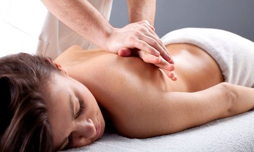 Massage to treat pain in the spine