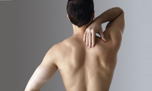 the Problem of stretching of the back muscles