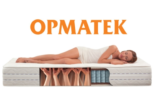 Structure of the mattress Ormatek