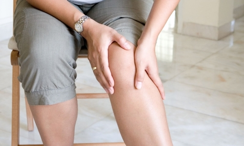 Pain in knees with giant cell tumor