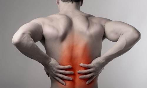 Symptoms of inflammation of the spine