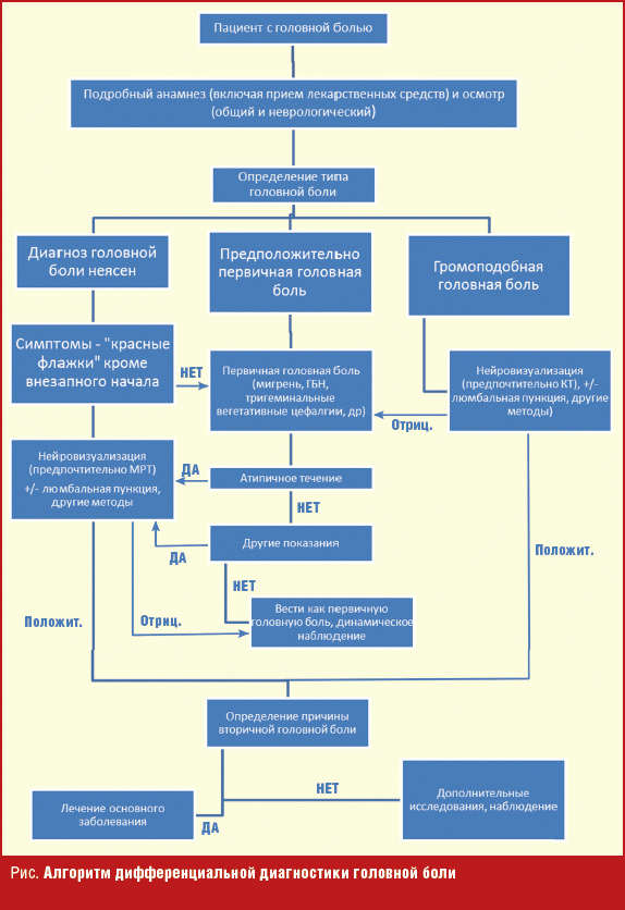 an algorithm for the diagnosis of headache