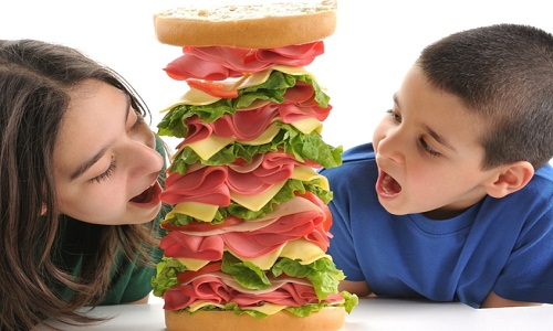 Unbalanced diet is one of the causes of headache in child