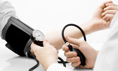 Hypertension is the cause of headaches
