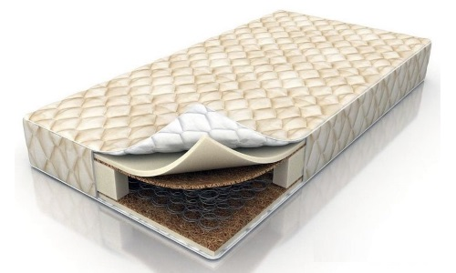 Structure orthopedic springless mattress