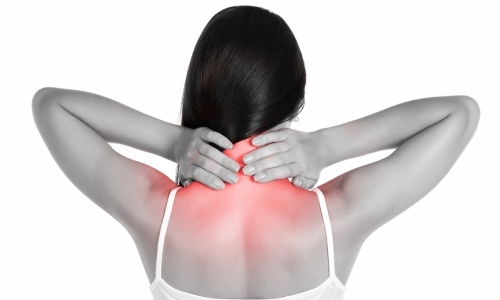 Pain when turning the neck in ankylosing spondylitis