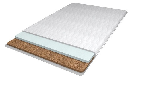 Mattress with cover memoryform