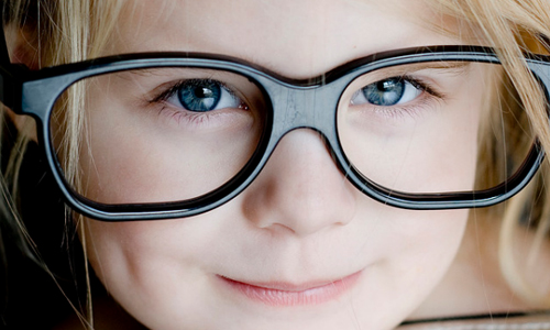 blurred vision in the developmental disorders