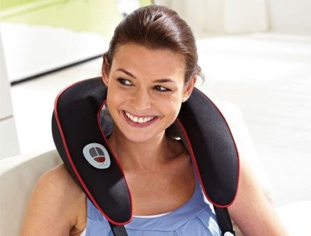 massager for neck in osteochondrosis