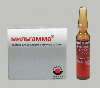 Milgamma injections for osteochondrosis