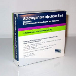 Actovegin injections for osteochondrosis