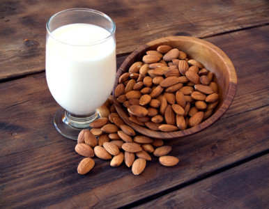 Almond milk replaces cow