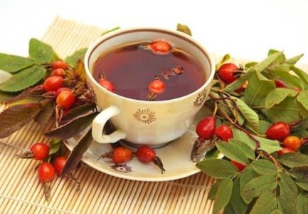 a Decoction of rose hips