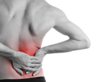 cutting pain in the side near the kidneys